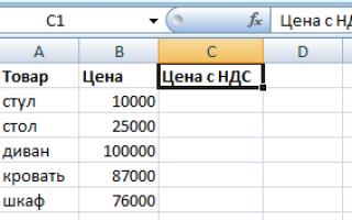 Инструкция о том, как посчитать проценты в Excel