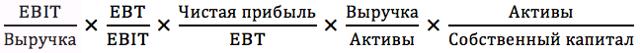 Модель Дюпона: формула расчета